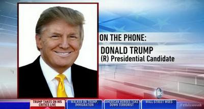 Donald Trump takes on Democrat George Stephanopoulos