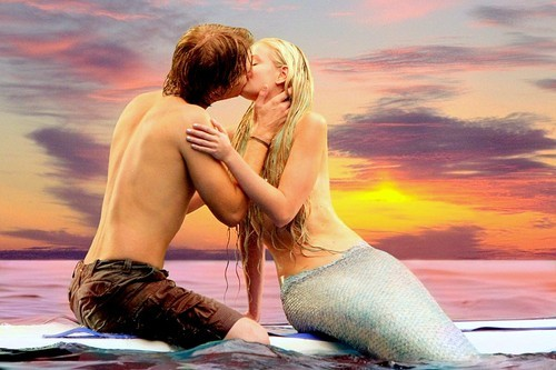 Aquamarine Mermaid Kiss, Undines