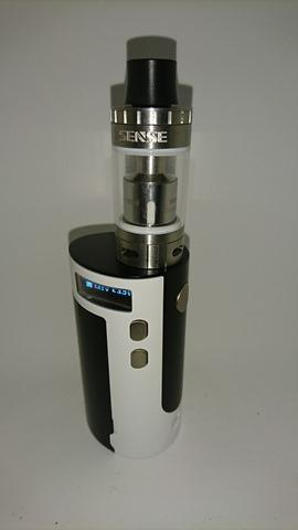 DSC 2246 thumb%25255B3%25255D - 【MOD+アトマ】「Sense Blazer 200キット」レビュー。最大200W対応BOX MODとセラミック搭載クリアロのスターターキット!【電子タバコ/爆煙】