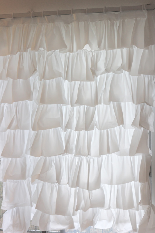Do You Like Ruffles Anthro Shower Curtain See Kate Sew