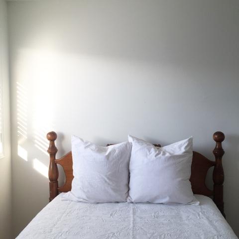Rustic Maple: Guest Bedroom Makeover in Progress