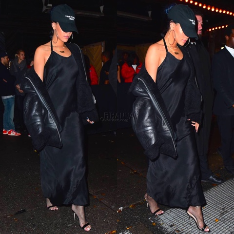 Rihanna in Millinsky's NASA Seasons I Came to Break Hearts Hat