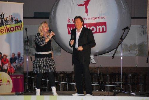 Een duetje van Frans Bauer en Laura Lynn