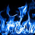 Blue Fire Live Wallpaper icon