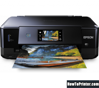 Reset Epson XP-760 End of Service Life Error message