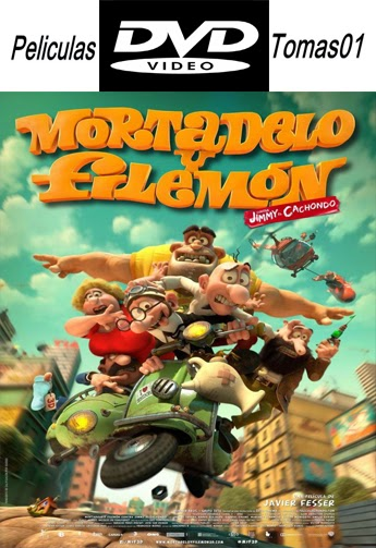 Mortadelo y Filemón contra Jimmy el Cachondo (2014) DVDRip
