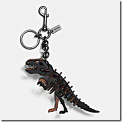 55651 COACH T-Rex Small Bag Charm 135GBP