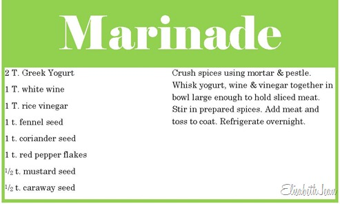 recipemarinade