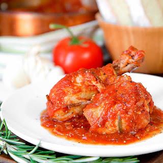 CHICKEN CACCIATORE ITALIAN STYLE - pollo alla cacciatora.