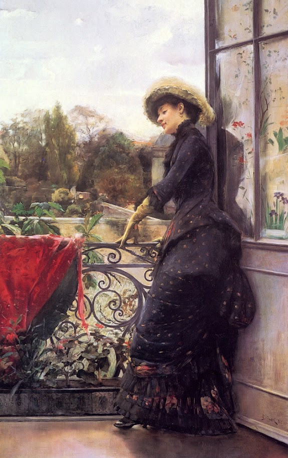 Julius LeBlanc Stewart - On the Terrace