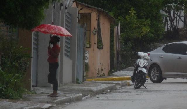 ONAMET PREVEE PERSISTENCIA DE LAS LLUVIAS SOBRE EL PAIS POR INCIDENCIA DE VAGUADA