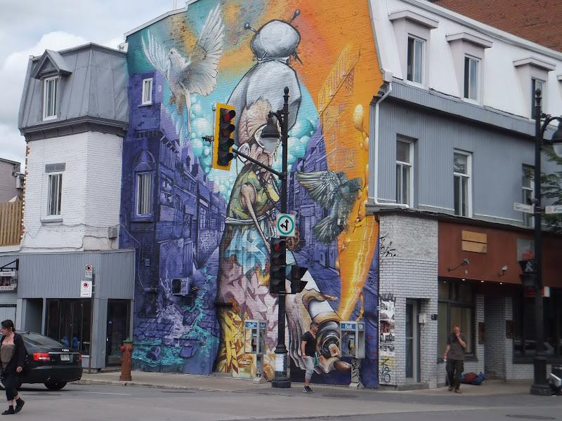 Arte Callejero en Montréal, Canadá