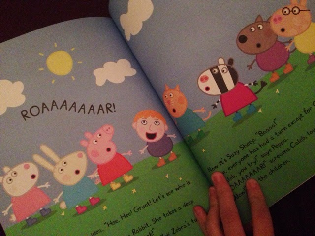 personalised peppa pig books for children