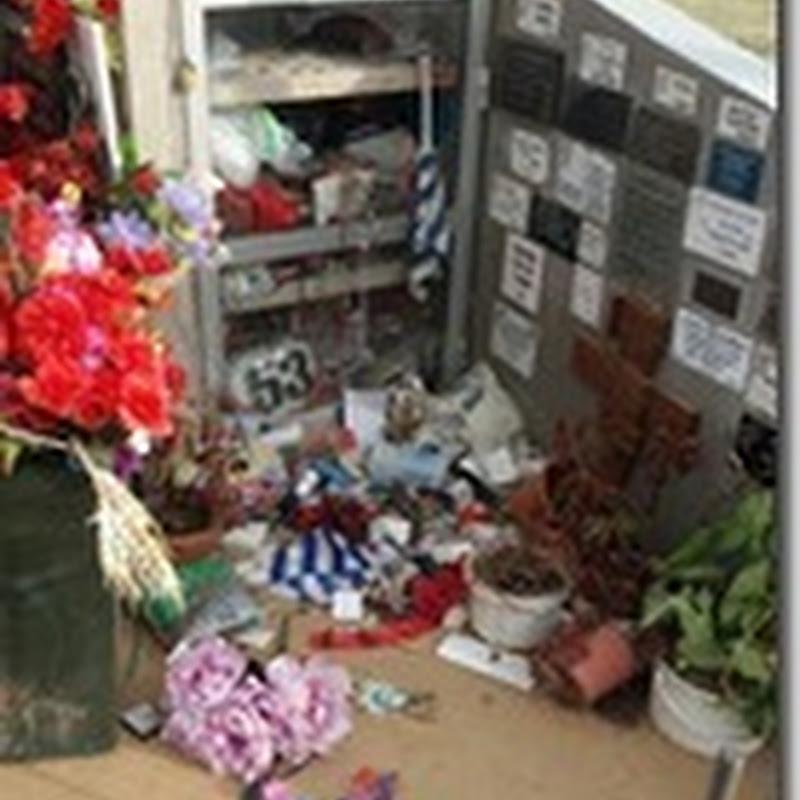 Malvivientes destrozaron y robaron el Santuario de Doña Celestina en Rodo