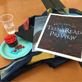 Yummy treats from the Raincoast TeensRead Preview.