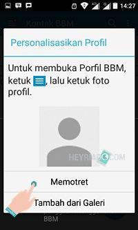 Dimulai dari update aplikasi BBM versi  Cara Membuat Akun BBM di Android Dengan Nomor Telepon