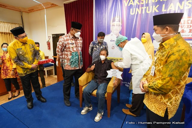 Safrizal Dorong Percepatan Vaksinasi Covid-19 Kotabaru
