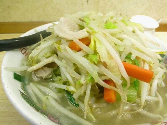 しゃきしゃき野菜のモヤシ、キャベツ、ニンジン