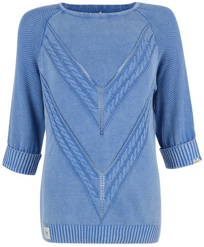 Softener silicon washed jumper