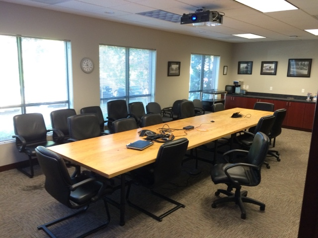 Pnw Tillamook Cheese Tables And Desks At Corporate In Tigard - 18 foot conference table