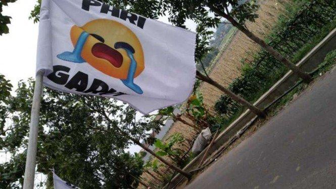 Puluhan Hotel Restoran di Garut Pasang Bendera Putih Tanda Menyerah