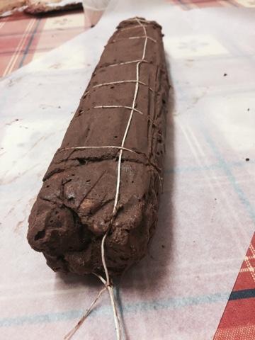 salame di cioccolato senza lattosio