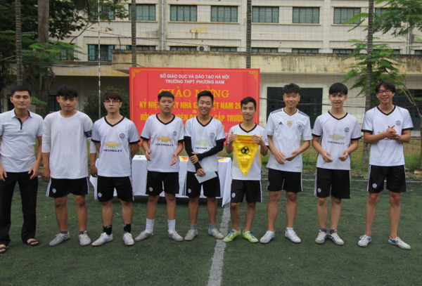 thpt phương nam bóng đá học sinh 2017-2018