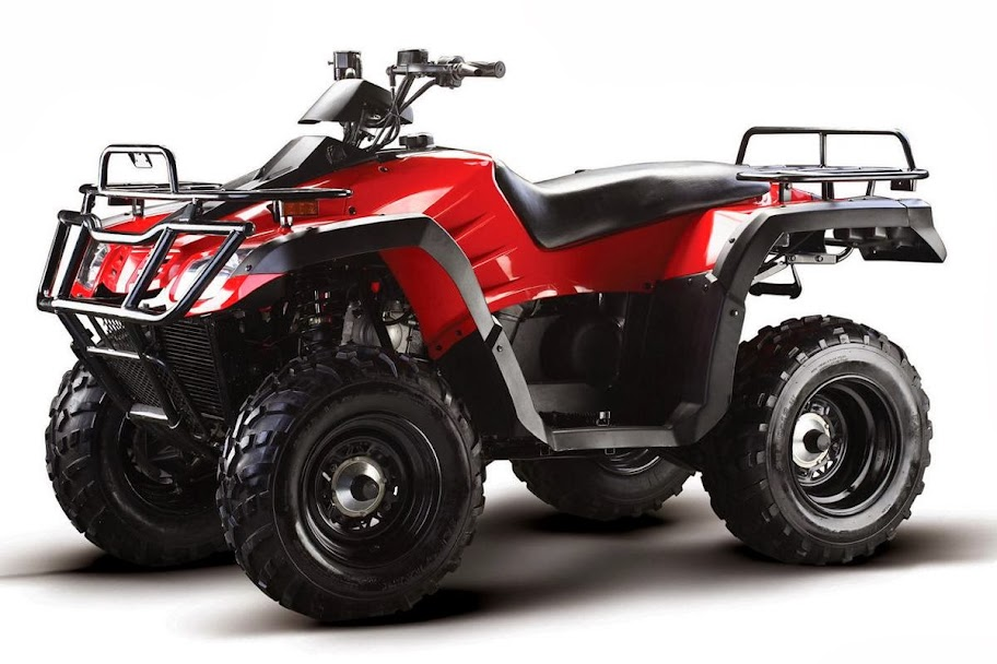 300cc 2WD Shaft Auto ATV Farm 2x4 Quad Bike