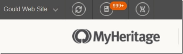MYHeritage match number
