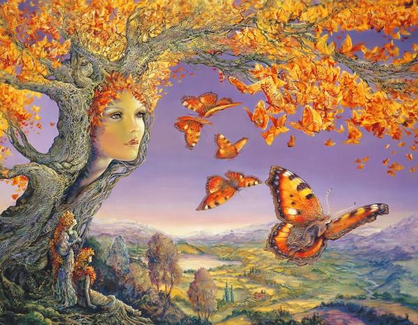 Soul Of Autumn Tree, Fairies 2