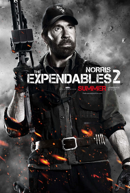 expendables two ver7 xlg The Expendables 2   Galeria de Posters e Trailer.