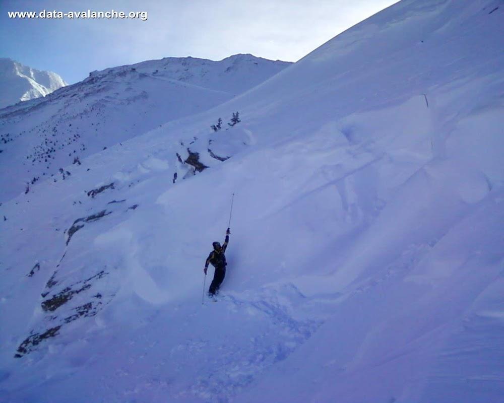Avalanche Haute Maurienne, secteur La Norma - Photo 1