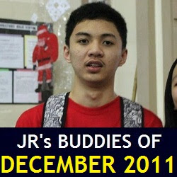 JR's Buddies of December 2011