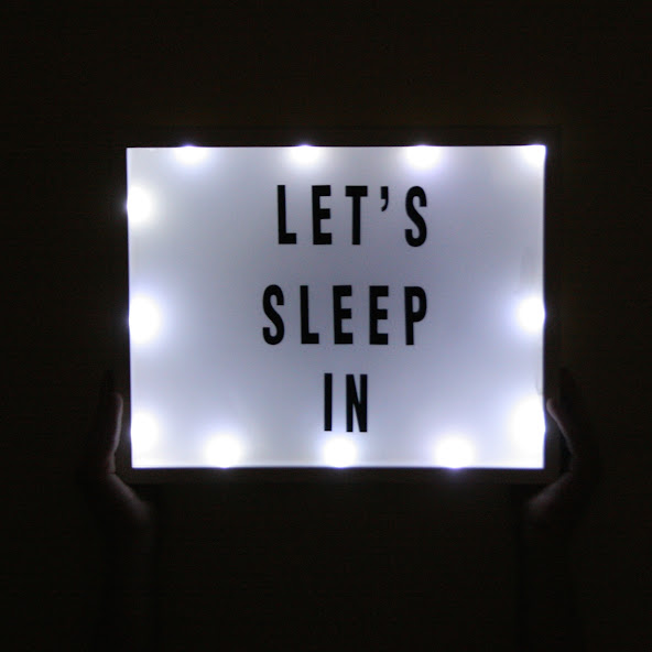 DIY Light Up Sign