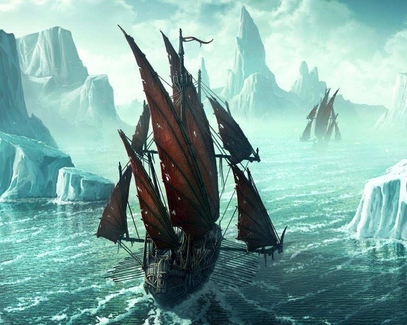 Ships In The Ice Kingdom, Magick Lands 3