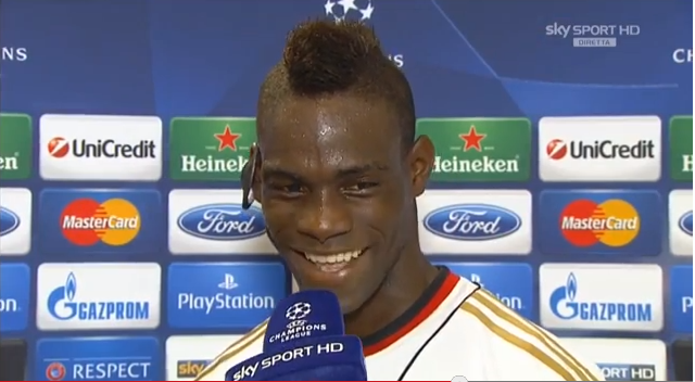 Mario Balotellis awesome line on Zlatan Ibrahimovic after AC Milans win over PSV