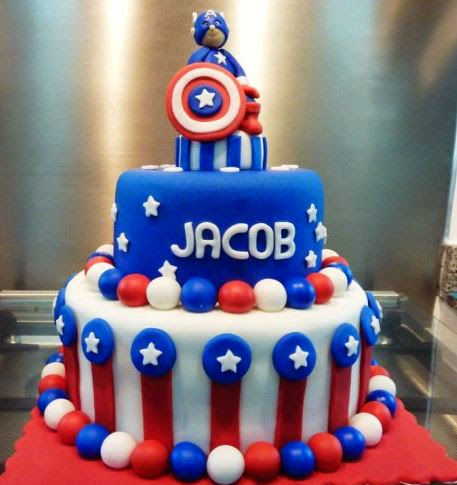 50 Best Captain America Birthday Cakes Ideas And Designs
