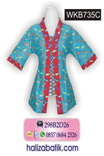 model baju batik, model baju batik terkini, batik modern