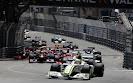 Start of 2009 Monaco F1 GP