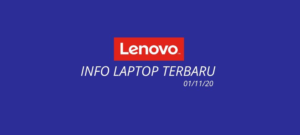 daftar laptop lenovo terbaru tahun 2020