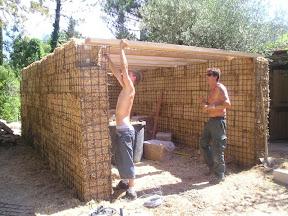 idée : Construction d'un garage végétal