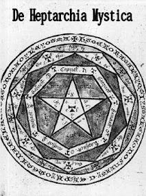 Cover of John Dee's Book De Heptarchia Mystica