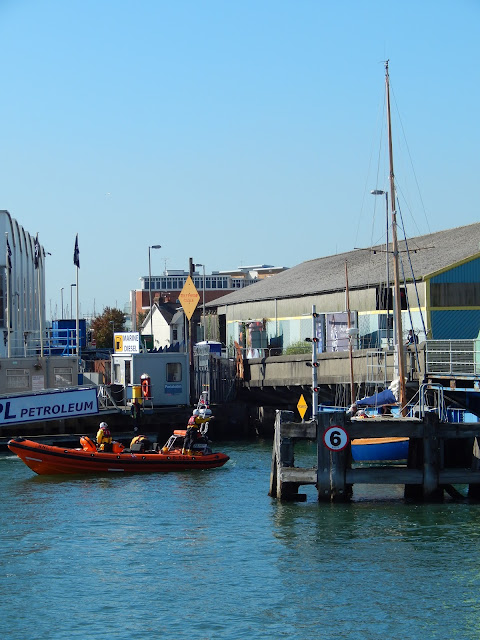 ILB tows yacht clear of lifting bridge - 26 September 2015.  Photo credit: Anne Millman
