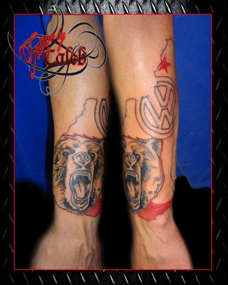 Mountainside tattoo and piercing color tattoos for Tattoo parlors in vermont