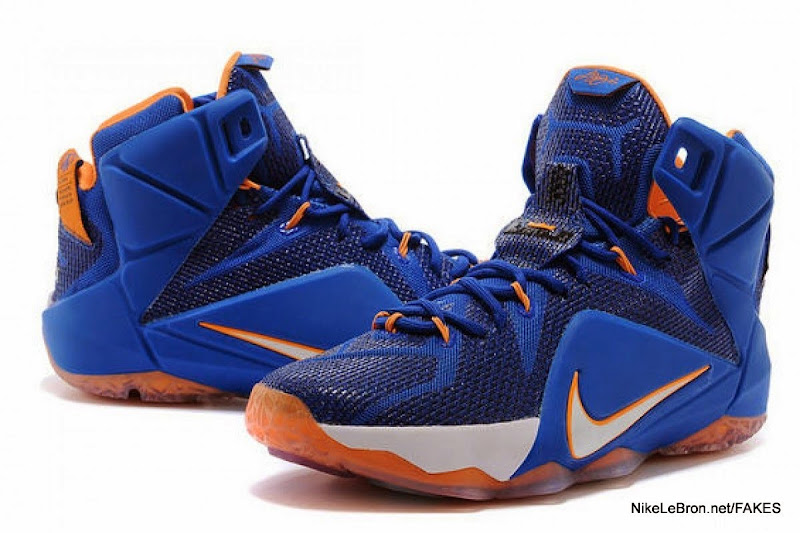 blue lebron james shoes