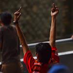 Powitanie piłkarzy z Bandung.