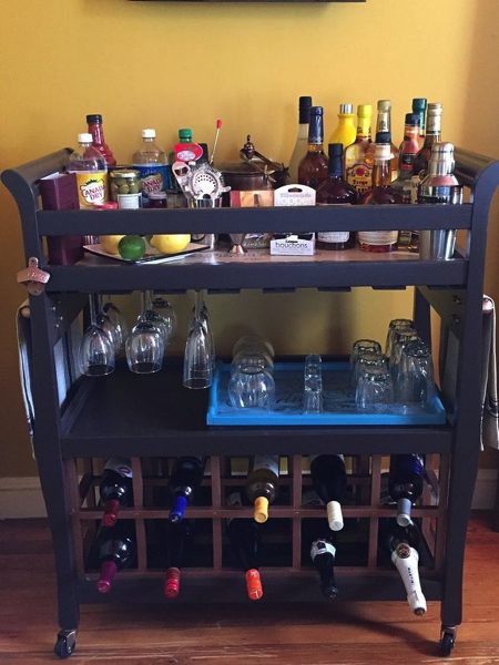 Bar Cart from crib