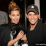 WWW.ENTSIMAGES.COM -   Ferne McCann and Ollie Locke     at      Whistle and  Bango  launch party at Wolf and Badger, London October 23rd 2014Ashley James, Ania Kubow and Rosie Parkes are showcasing their new brand and bracelets at a celebrity studded press launch                                                 Photo Mobis Photos/OIC 0203 174 1069