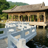 zhishan garden at the national palace museum in Taiwan in Taipei, T'ai-pei county, Taiwan