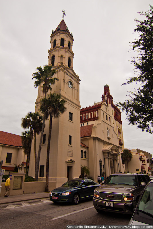 USA Florida Saint Augustine США Флорида Сент Августин Огюстен
